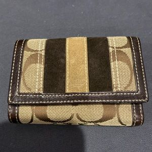 Cute small Coach wallet